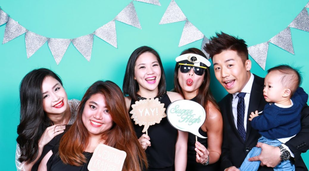 Singapore Wedding Photo Booth